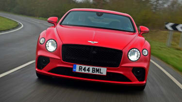 Bentley Continental GT V8 - full front