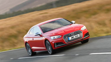 Audi S5 Coupe - front action
