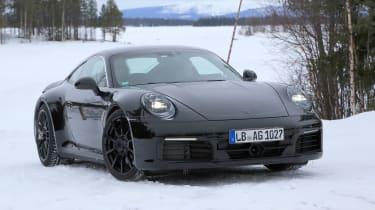 Porsche 911 spy shot - daytime