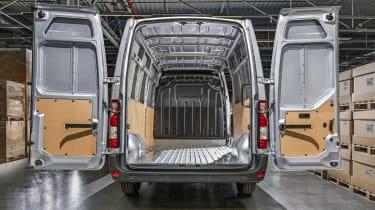 2019 Vauxhall Movano rear doors