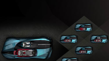 DS X E-Tense concept - overhead