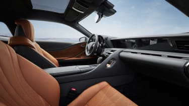Lexus LC Coupe Limited Edition - cabin