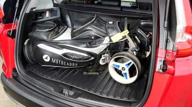 Honda CR-V Hybrid - third report golf bag