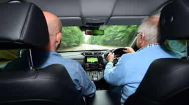 Honda CR-V Hybrid - third report driving