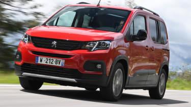 Peugeot Rifter review – lead