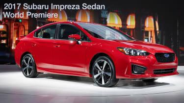 Subaru Impreza 2016 - saloon show front quarter