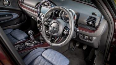 MINI Cooper D Clubman 2015 steering wheel