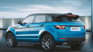 Land Rover Evoque Landmark rear quarter