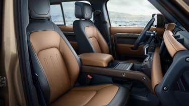 2019 Land Rover Defender interior trim