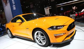 Frankfurt - Ford Mustang - front