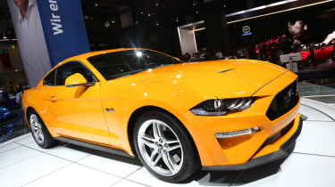 Frankfurt - Ford Mustang - front