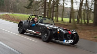 Caterham 620S - front tracking 2