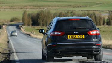 Ford Mondeo Vignale road trip - rear cornering