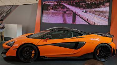 McLaren 600LT side profile