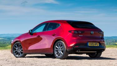 Mazda 3 - rear static