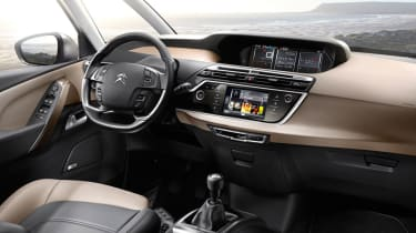 Citroen C4 Picasso interior