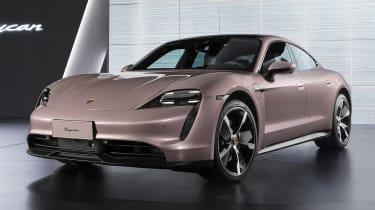 Porsche Taycan - front
