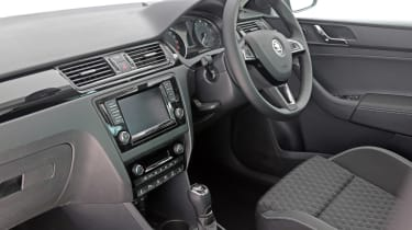 Used Skoda Rapid Spaceback - dash