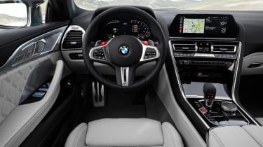 BMW M8 Gran Coupe - dash