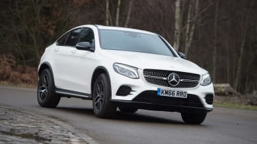 Mercedes GLC Coupe - front cornering