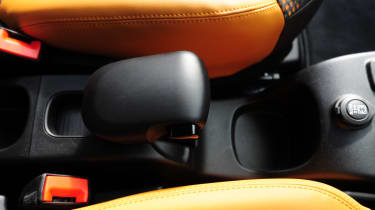 Fiat Panda Trekking interior detail