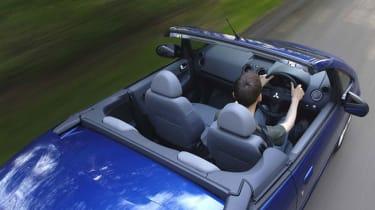 Top view of Mitsubishi Colt CZC