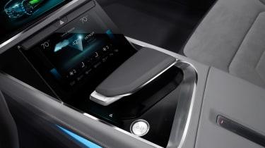 Audi h-tron concept - centre console 2