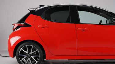 Toyota Yaris - rear 1/2 static studio