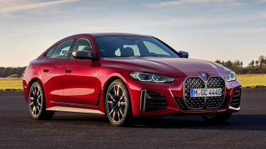 BMW 4 Series Gran Coupe - front red