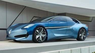 Borgward Isabella concept - front static