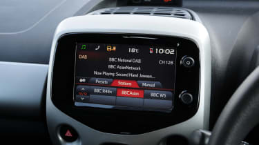 Peugeot 108 sat-nav