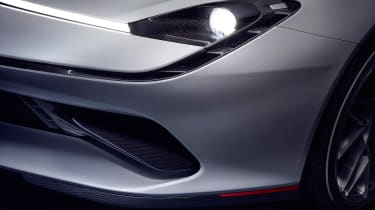 Pininfarina Battista - front light