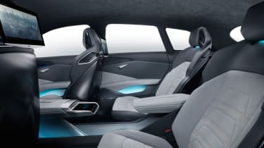 Audi h-tron concept - rear seats