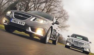 Saab 9-5 vs. Mercedes E-Class