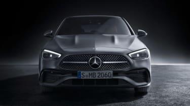 Mercedes C-Class - full front studio