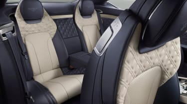 Bentley Continental GT - rear seats