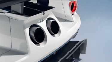 Ford GT Mk II - exhausts