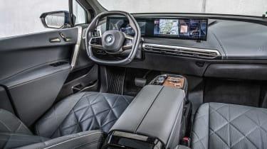 BMW iX prototype - dash