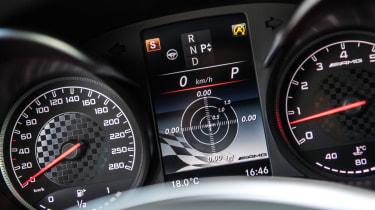 Mercedes-AMG GLC 43 Coupe  display