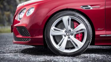 Bentley Contintental GT Speed 2015 wheel