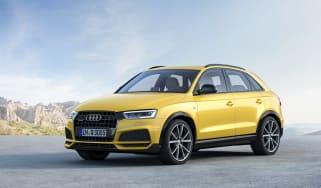 Audi Q3 Black Edition front side