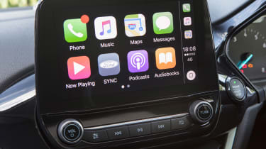 Ford Fiesta - Apple CarPlay
