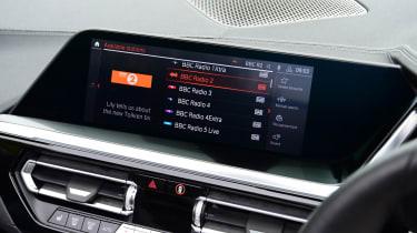 BMW Z4 M40i - infotainment