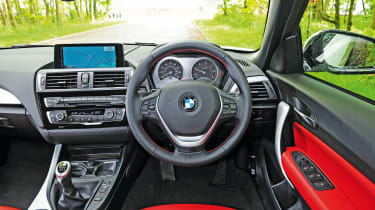BMW 2 Series Convertible - interior