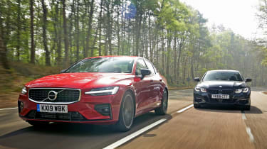 Volvo S60 vs BMW 3 Series - header