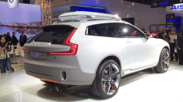 Volvo Concept XC Coupe  at Detroit Motor Show 2014