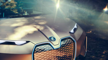 BMW Vision iNEXT concept - front detail