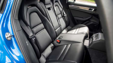 Porsche Panamera Sport Turismo 2017 review - rear seats