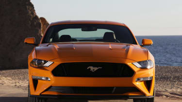 Ford Mustang - full front