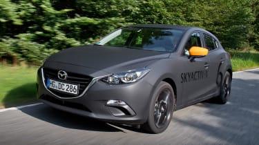 Mazda SKYACTIV-X prototype - front tracking